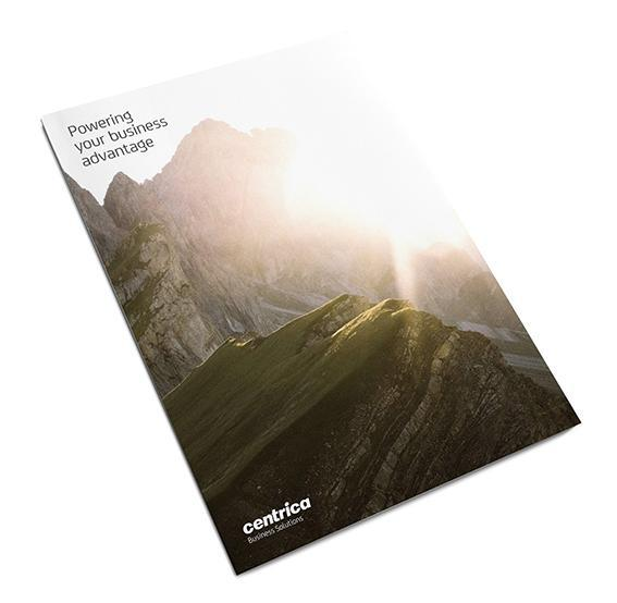 Centrica Business Solutions Brochure cover