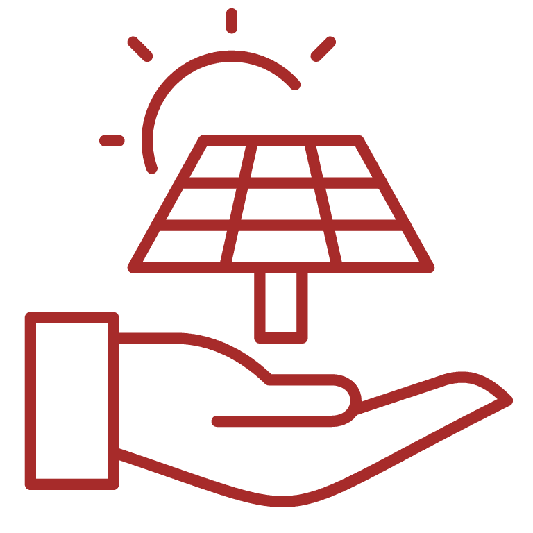 Solar ownership option via capital purchase